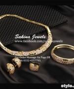 Latest Jewellery Collection 2015 by Sakina Jewelery 7