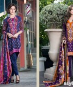 Libas Printed Lawn Dresses 2015 by Shariq Textiles 6
