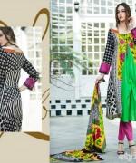 Libas Printed Lawn Dresses 2015 by Shariq Textiles 7