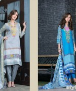 Libas Printed Lawn Dresses 2015 by Shariq Textiles 8