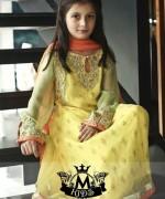 Maria B Winter Dresses 2015 for Kids 001