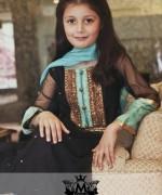Maria B Winter Dresses 2015 for Kids 004