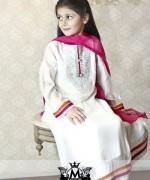 Maria B Winter Dresses 2015 for Kids 006