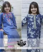 Maria B Winter Dresses 2015 for Kids 007