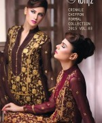 Motifz Chiffon Collection 2015 Volume 3 For Women 001