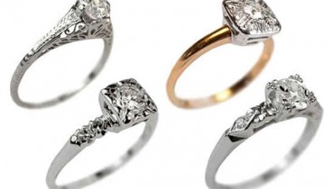 New Designs Of Antique Engagement Rings 2015 007