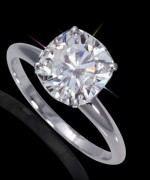 New Designs Of Cushion Cut Engagement Rings 0010