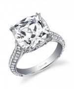 New Designs Of Cushion Cut Engagement Rings 0011