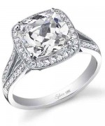 New Designs Of Cushion Cut Engagement Rings 0013