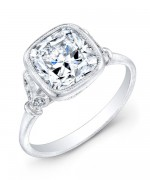 New Designs Of Cushion Cut Engagement Rings 006