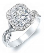New Designs Of Cushion Cut Engagement Rings 008
