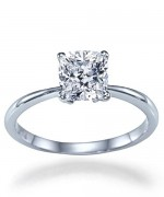 New Designs Of Cushion Cut Engagement Rings