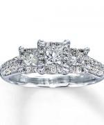 New Designs Of Princess Cut Engagement Rings 0011