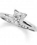 New Designs Of Princess Cut Engagement Rings 0012
