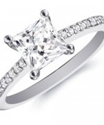 New Designs Of Princess Cut Engagement Rings 0013