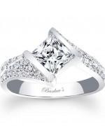 New Designs Of Princess Cut Engagement Rings 0014