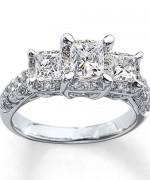 New Designs Of Princess Cut Engagement Rings 0019