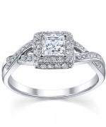 New Designs Of Princess Cut Engagement Rings 003