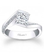 New Designs Of Princess Cut Engagement Rings 005