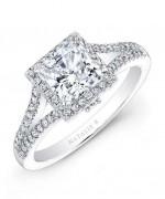 New Designs Of Princess Cut Engagement Rings 007