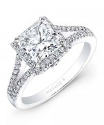 New Designs Of Princess Cut Engagement Rings