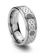 New Designs Of Tungsten Wedding Bands 2015 009