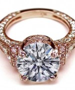 New Rose Gold Engagement Rings For Women 0010