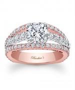 New Rose Gold Engagement Rings For Women 0012
