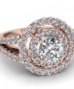 New Rose Gold Engagement Rings For Women 0013