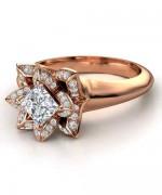 New Rose Gold Engagement Rings For Women 0015