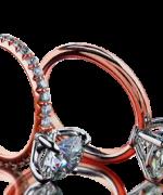 New Rose Gold Engagement Rings For Women 002