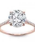 New Rose Gold Engagement Rings For Women 003