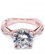 New Rose Gold Engagement Rings For Women