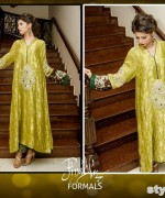 Nida Ali Formal Dresses 2015 For Girls 2