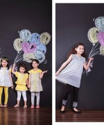 Nishat Linen Spring Collection 2015 For Kids 001