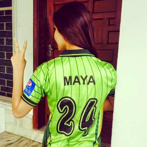 Pakistani actress maya ali