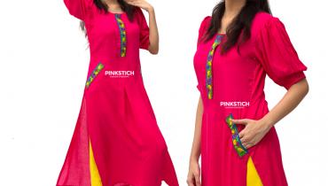 Pinkstich Winter Dresses 2015 For Women 002
