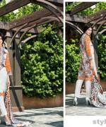 Riwaj Lawn Dresses 2015 by Shariq Textiles 10