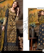 Rujhan Fabric Zunia Embrodiered Collection 2015 Volume 2 1