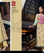 Rujhan Fabric Zunia Embrodiered Collection 2015 Volume 2 5