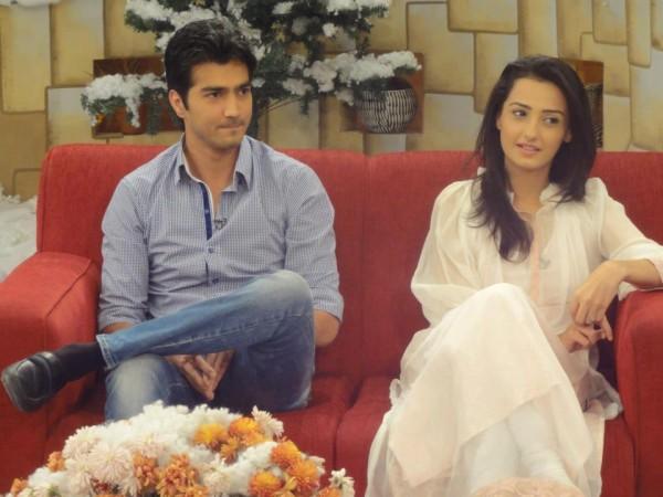 Shehzad Sheikh and Momal Sheikh