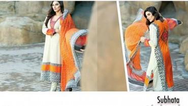 Subhata Embroidered Collection 2015 Shariq Textiles 10