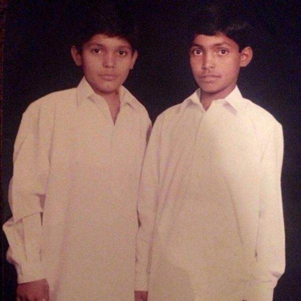 Umar Akmal and Kamran Akmal childhood