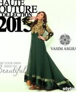 Vasim Asghar Formal Wear Dresses 2015 For Women 1