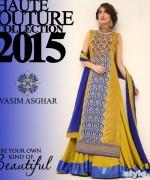 Vasim Asghar Formal Wear Dresses 2015 For Women 2