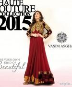 Vasim Asghar Formal Wear Dresses 2015 For Women 3
