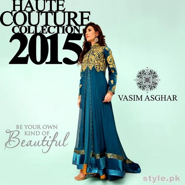 Vasim Asghar Formal Wear Dresses 2015 For Women 6