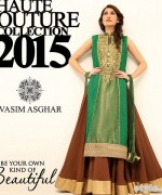 Vasim Asghar Formal Wear Dresses 2015 For Women 7
