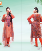 Warda Designer Spring Summer Dresses 2015 For Girls 2