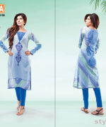 Warda Designer Spring Summer Dresses 2015 For Girls 4
